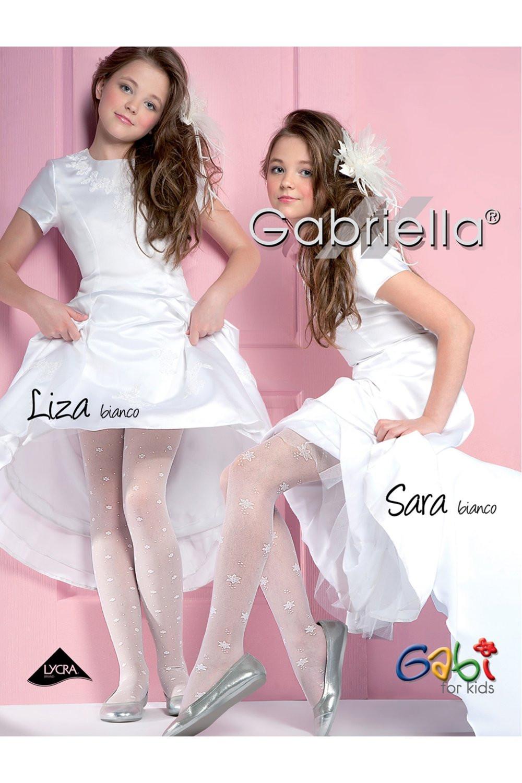 Dívčí punčochové kalhoty 759 Liza white