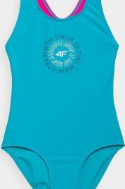 Dívčí plavky 4F JKOS001 modré