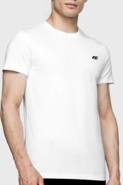 Pánské tričko 4F TSM003 bílé