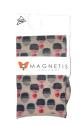 Dámské vzorované ponožky Magnetis lycra 20 den